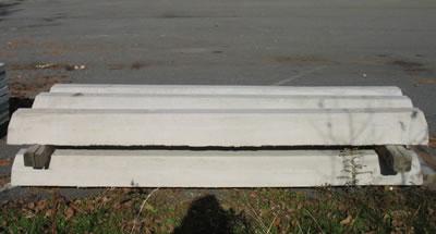 Concrete Parking Stops