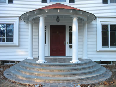 Custom Concrete Stairs
