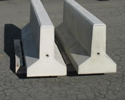 Precast Concrete Mini Jersey Barriers