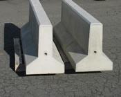 Precast Concrete Mini Jersey Barriers
