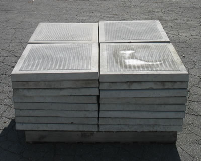 Large Concrete Pavers With Anti Slip Diamond Surface