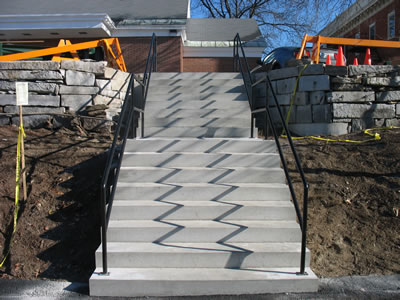 Concrete Stairs Poured In Place