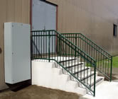 ADA Concrete Steps with Railings