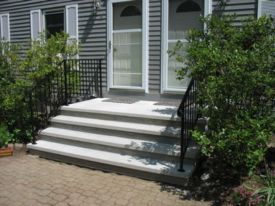Precast Concrete Steps - Outdoor Stairs